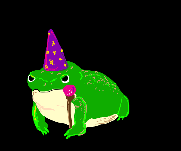 wizard toad