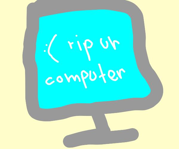 Windows Crash Error (Blue Screen Of Death)