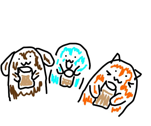 choccy milk party