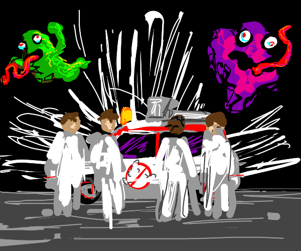 Who you gonna call? Ghostbusters!