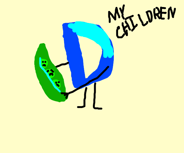 drawception loves peas in a pod