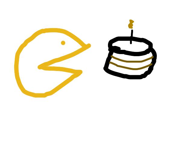 Pacman's birthday cake