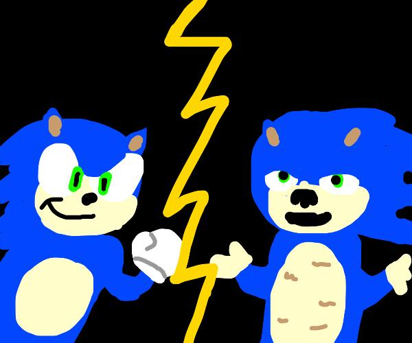 Sonic vs sonic