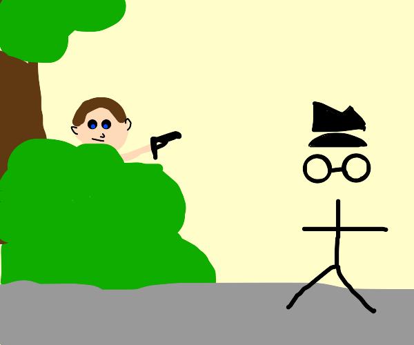 Hunting down Incognito Man