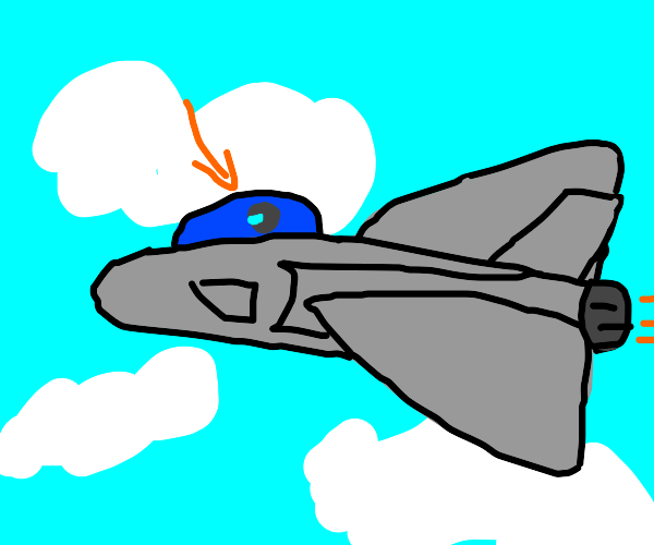 fighter-jet pilot