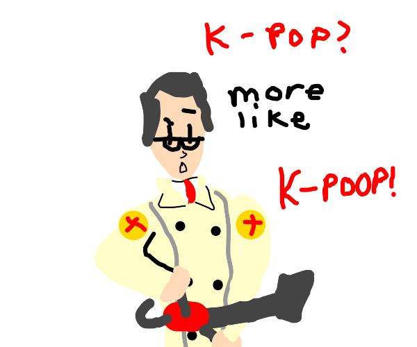 hey medic i like kpop