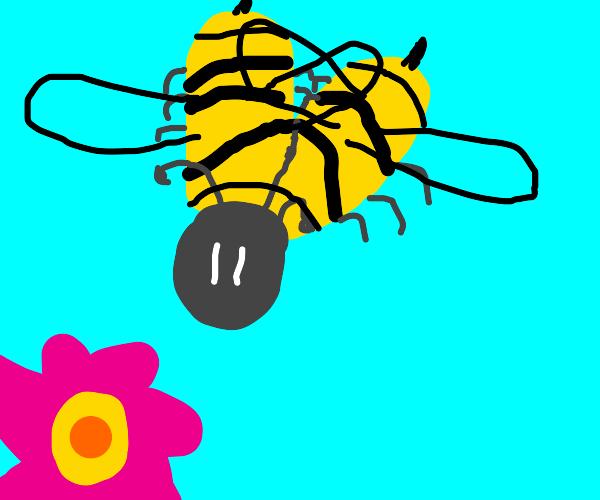 Bifurcated bee