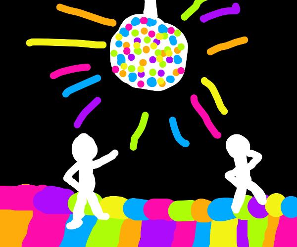 neon party woop woop