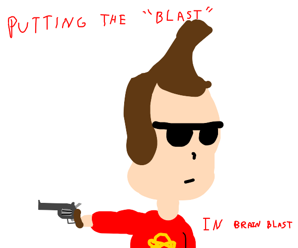 JimmyNeutron now uses a gun to solve everyth