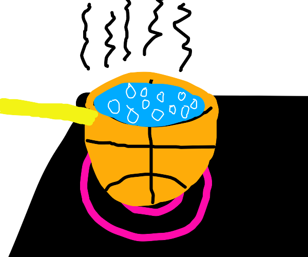 Cooking with a Basketball