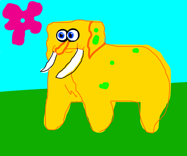Mammoth Spongebob