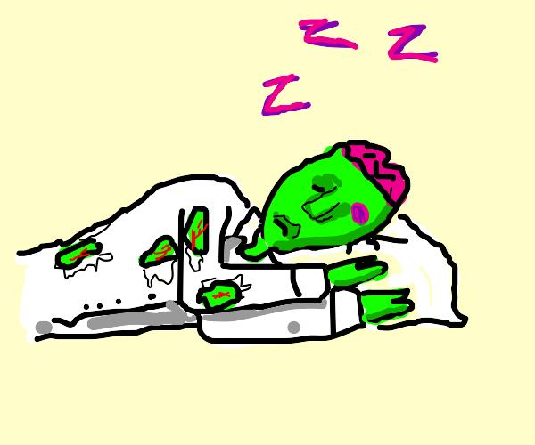 Zombie Sleeping