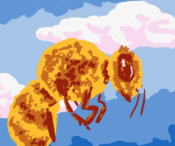 Cube Kawaii bee