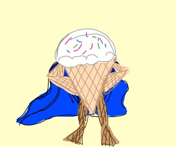 ice cream cones man (why)