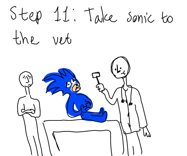 Step 10: send sonic to eat killer chilidogs