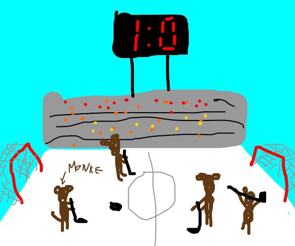 Monkey Hockey