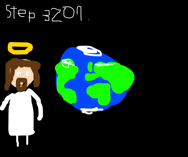 Step 3201:Make your OWN planet and be the god