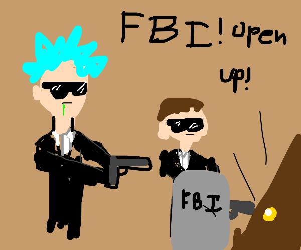 FBI rick and morty
