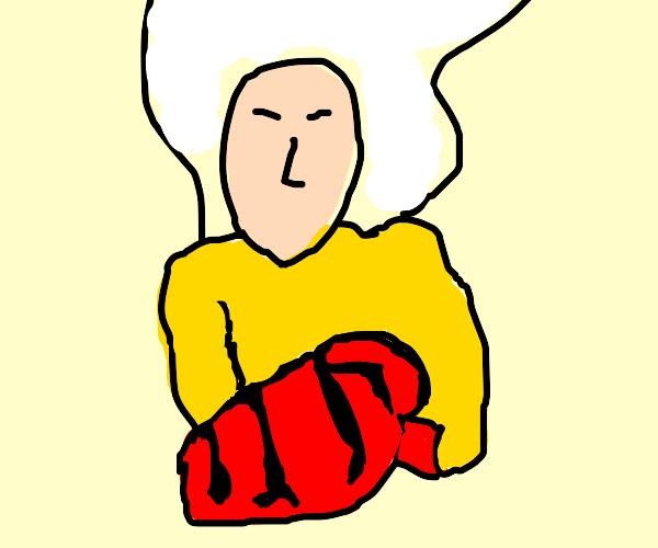 One Punch Man's Saitama