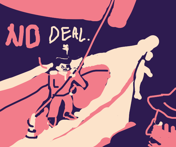 pirate says no deal!