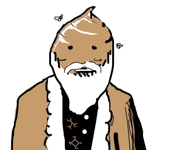 Happy Poop Santa