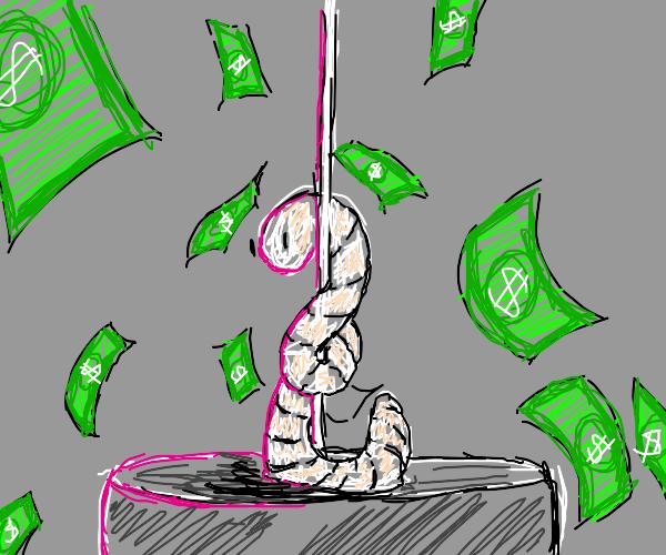 Worm on a String Stripper