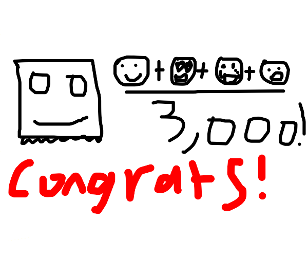 Thank you for 3,000 emotes!