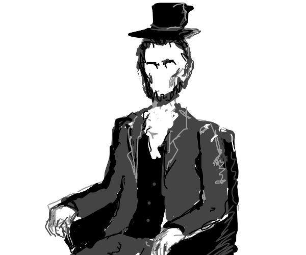 Faceless Abe Lincoln