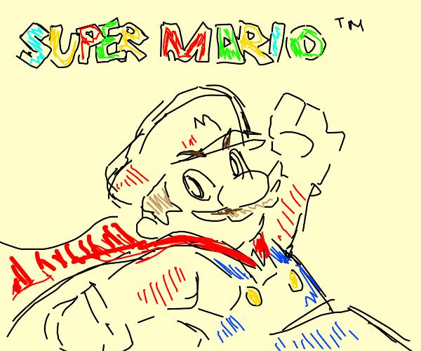 Super Mario w a cape