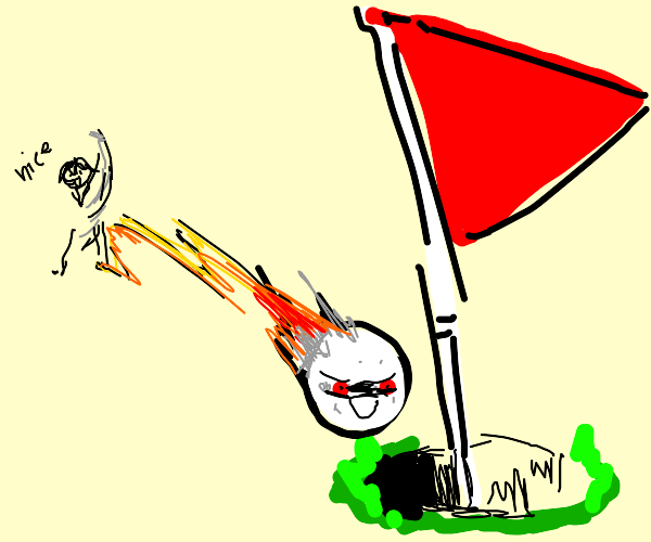Angry Birdie (Golf)