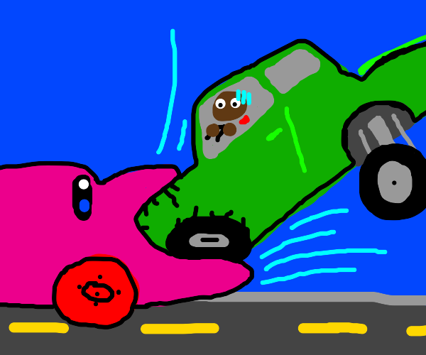 Kirby Is A Car