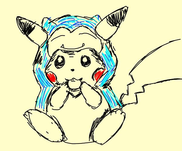 Pokemon Cosplaying as other Pokemon