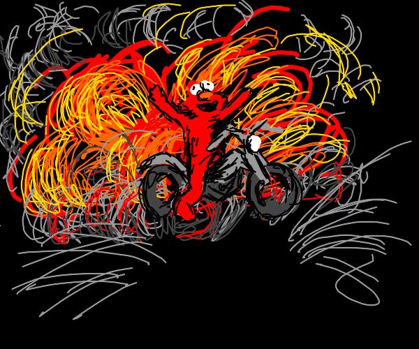 Elmo is craaaazy
