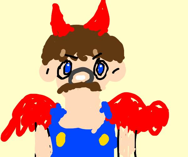 Mario as the Devil