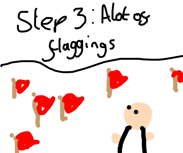 Step 2: That's a flagging