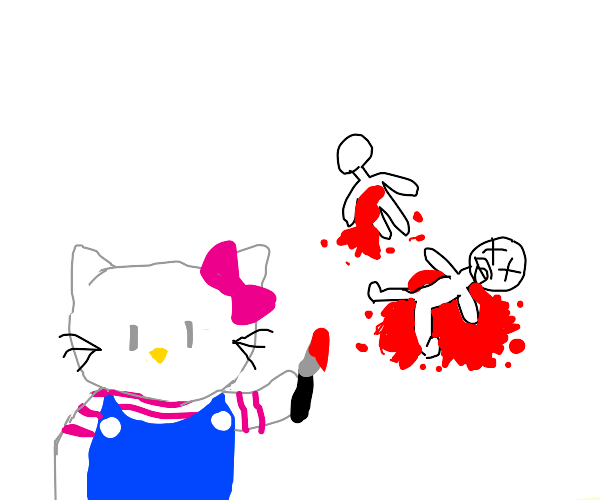 Hello Kitty has murdered some folks