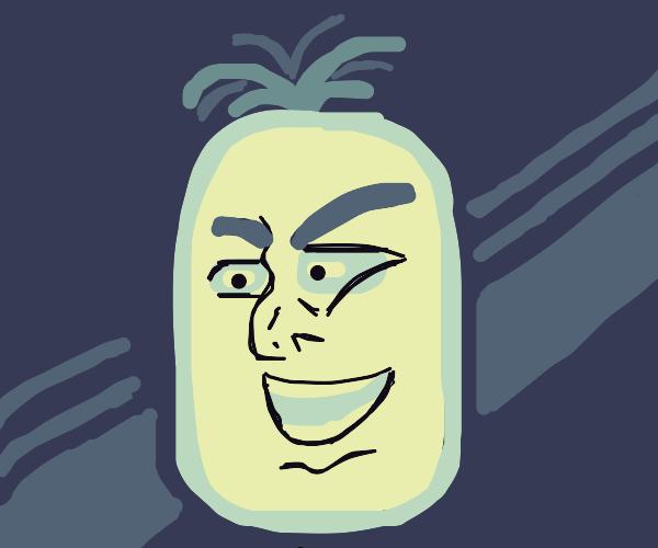 Pineapple has a jojo face