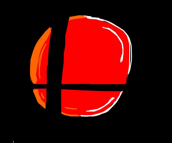 red smash bros logo