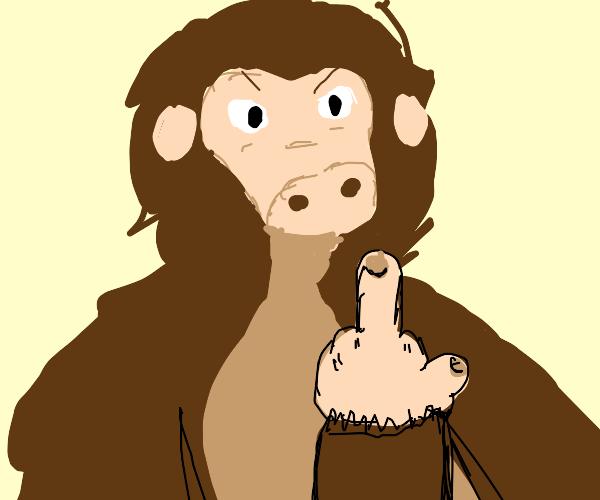rude ape