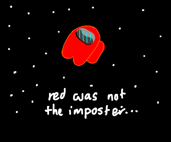 Red was not the impostor