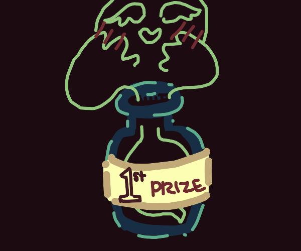awww ghost winning best spook award