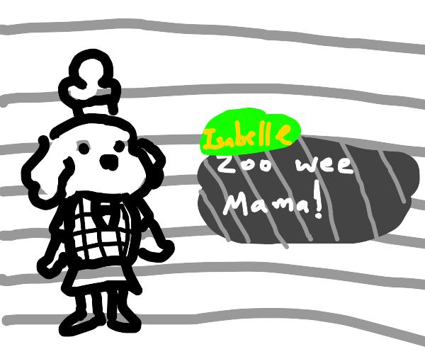 Animal crossing meets Zoo Wee Mama