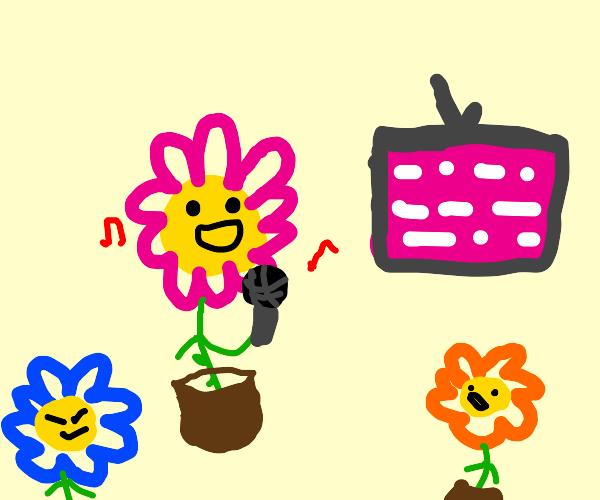 Flower Karaoke