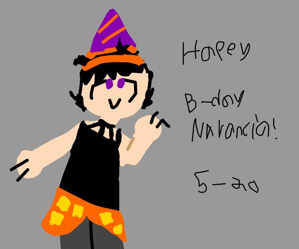 Happy Birthday Narancia!