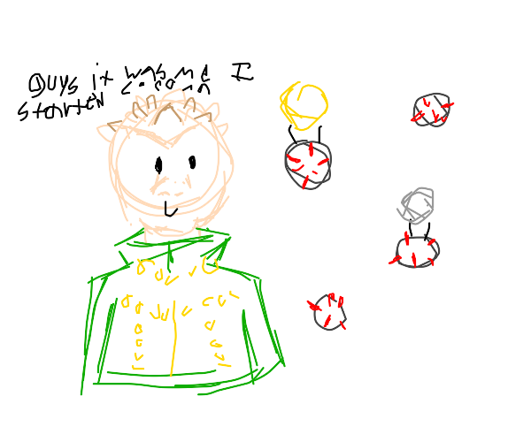 Shigechi and his stand, Corona!