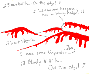 bloody hills (ow the edge)