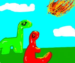 dinosaur extinction comet