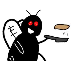 Fly makin' pancakes
