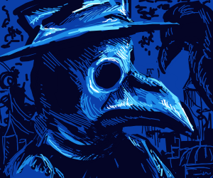 Detailed Plague Doctor
