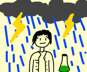 Scientist in a Storm